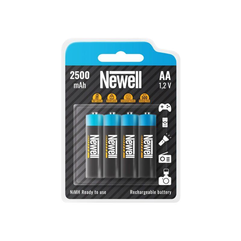 Newell Rechargeable NiMH AA 2500 x4
