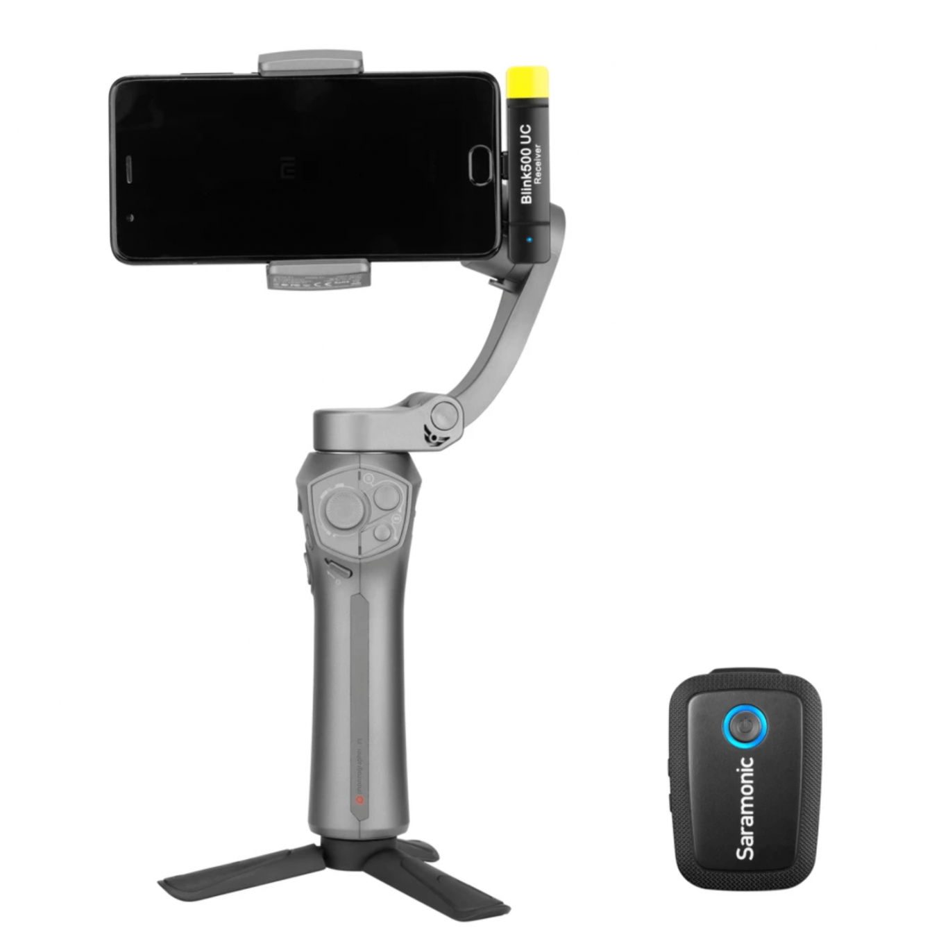 BLINK 500 B5 WIRELESS CLIP-ON MIC SYSTEM WITH LAVALIER & DUAL USB-C RECEIVER FOR ANDROID DEVICES & MORE