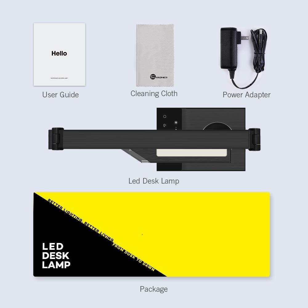 TaoTronics TT-DL16 Lampe de bureau LED en métal élégant