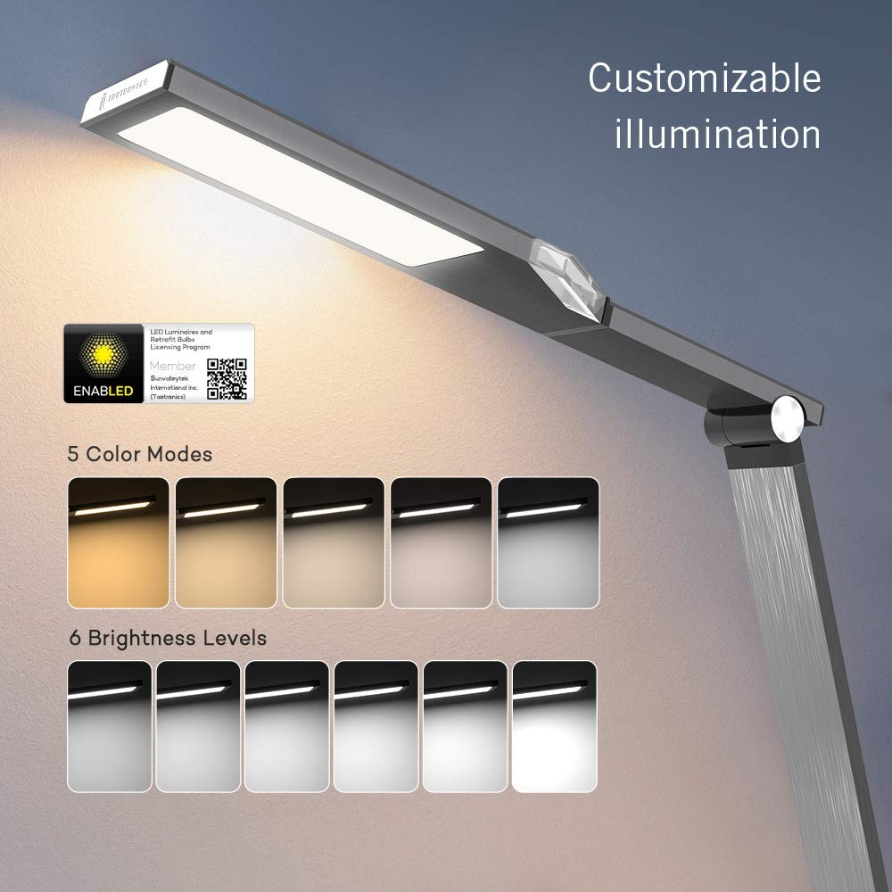 TaoTronics TT-DL16 Stylish Metal LED Desk Lamp