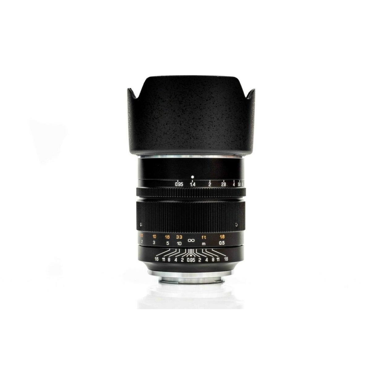 Zhongyi Mitakon Speedmaster 50mm f/0.95 ver III Lens for Nikon Z Mount - Black