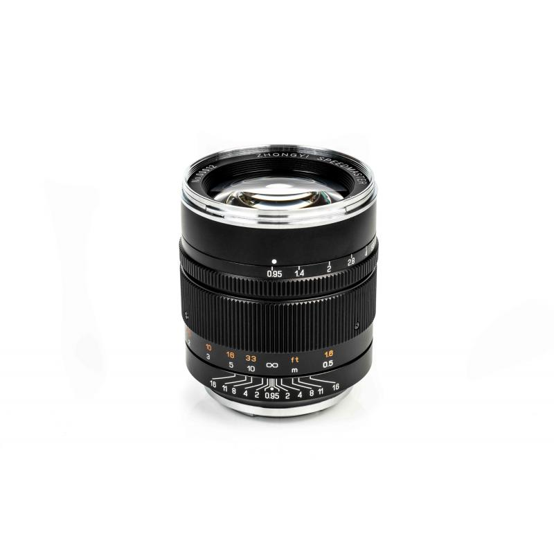Zhongyi Mitakon Speedmaster 50mm f/0.95 ver III Lens for Sony E Mount - Blac