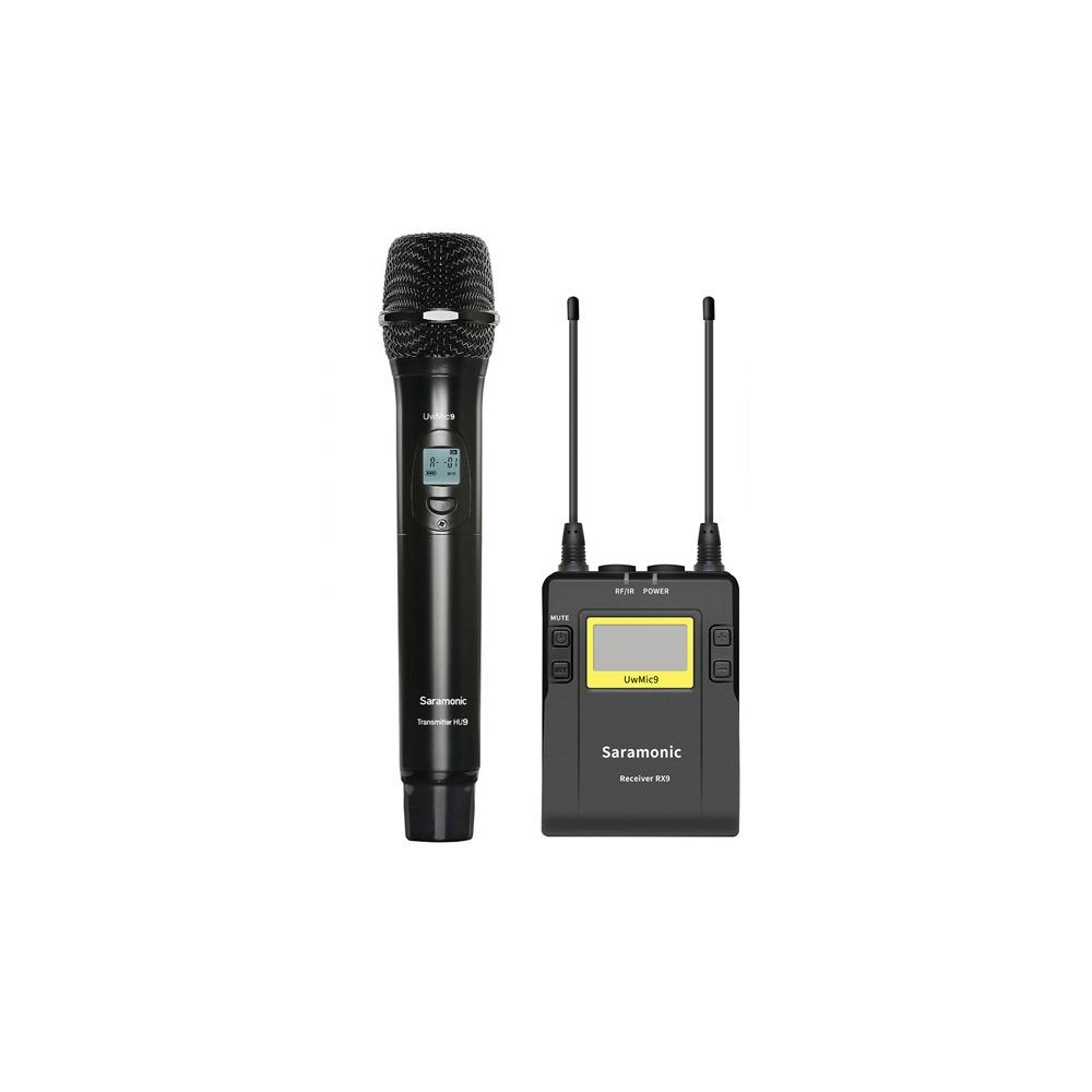 Saramonic UwMic9 Kit4 (RX9 + HU9) Wireless Kit
