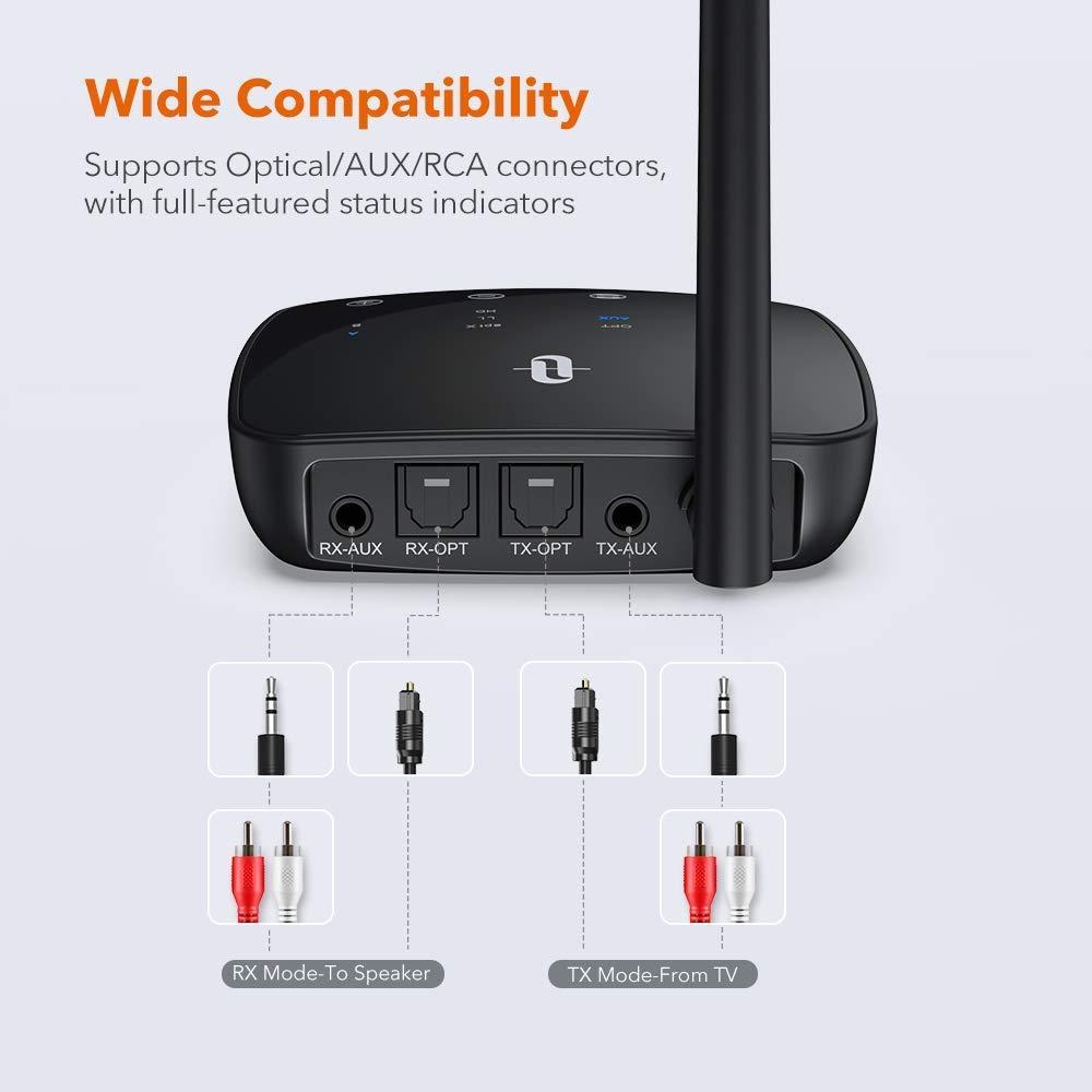 Transmiter Bluetooth Taotronics TT-BA014 RX/TX