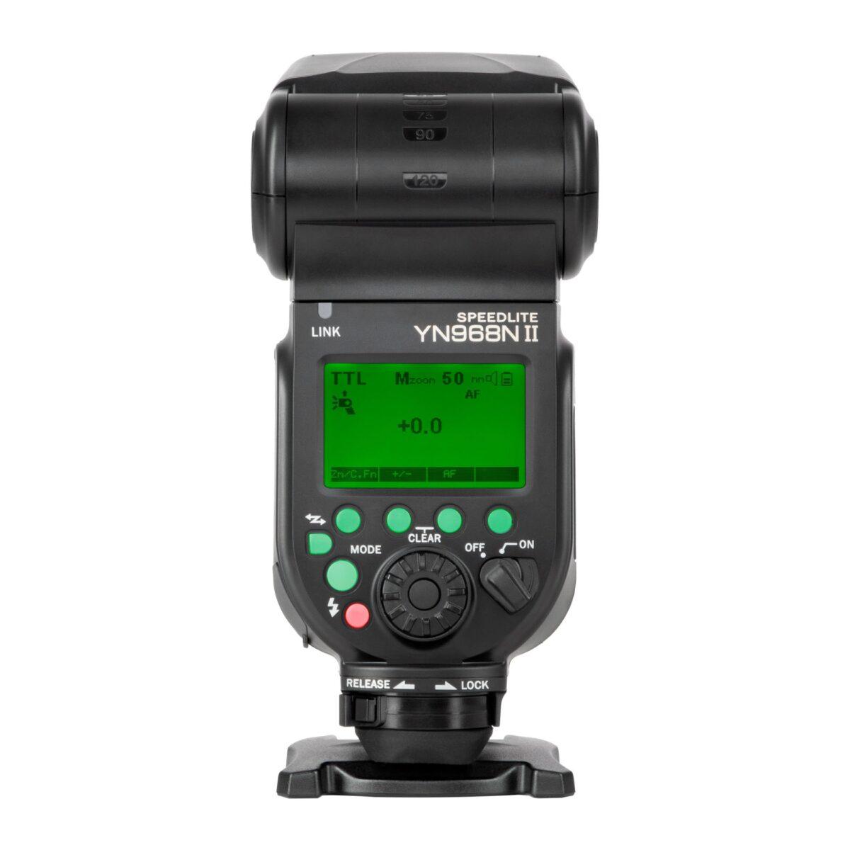 Yongnuo YN968N II TTL Speedlite for Nikon Cameras