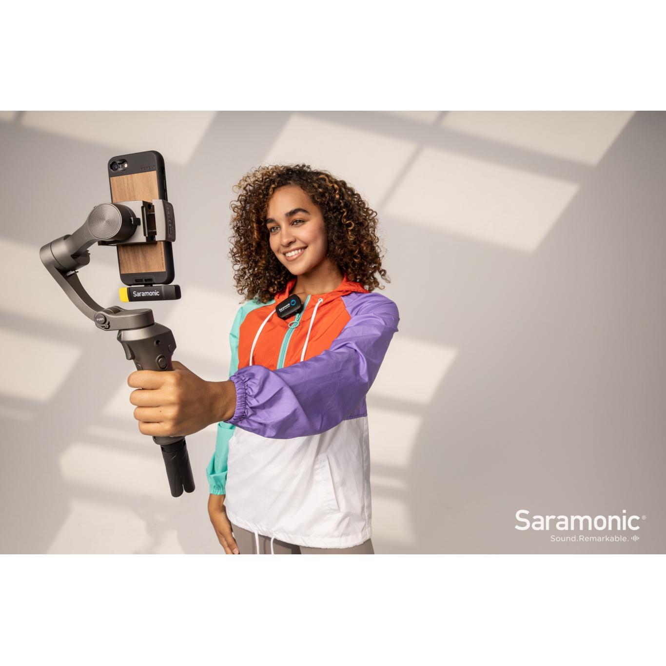 Saramonic Blink 500 RXUC Dual-Channel USB-C Wireless Microphone Receiver