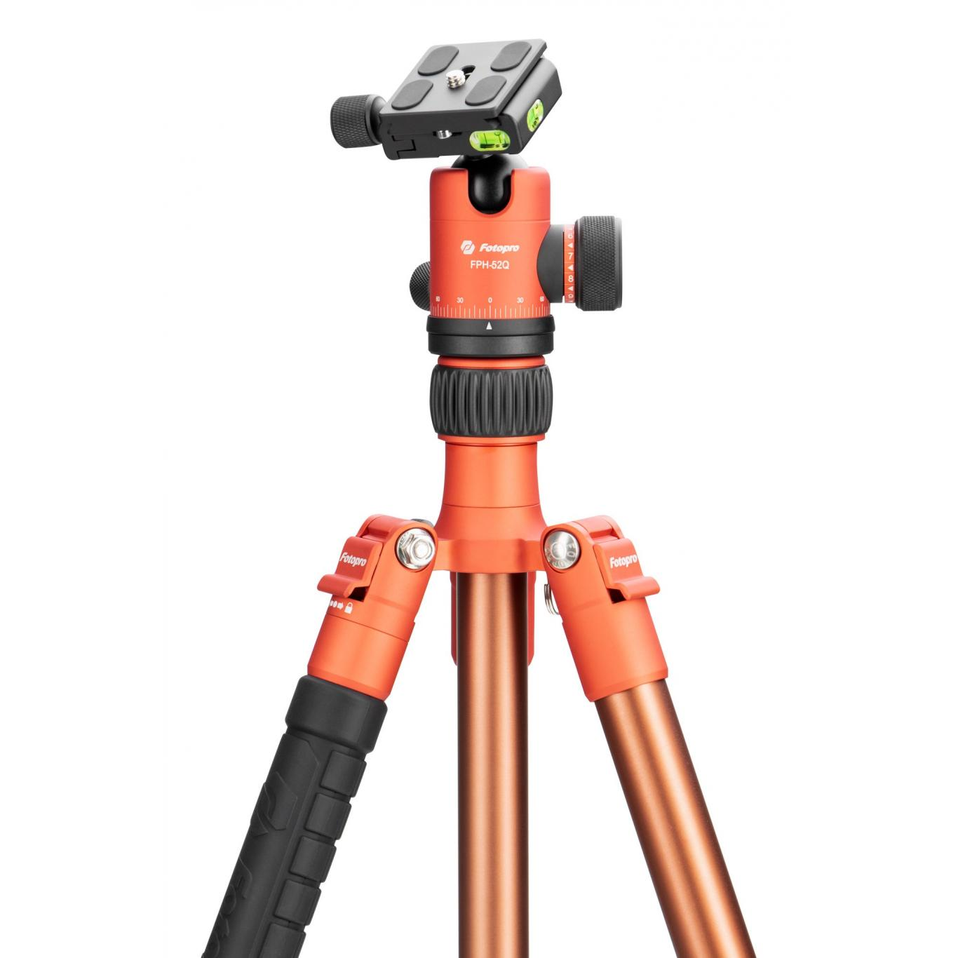 Fotopro X-go Chameleon with FPH-52Q orange-brown