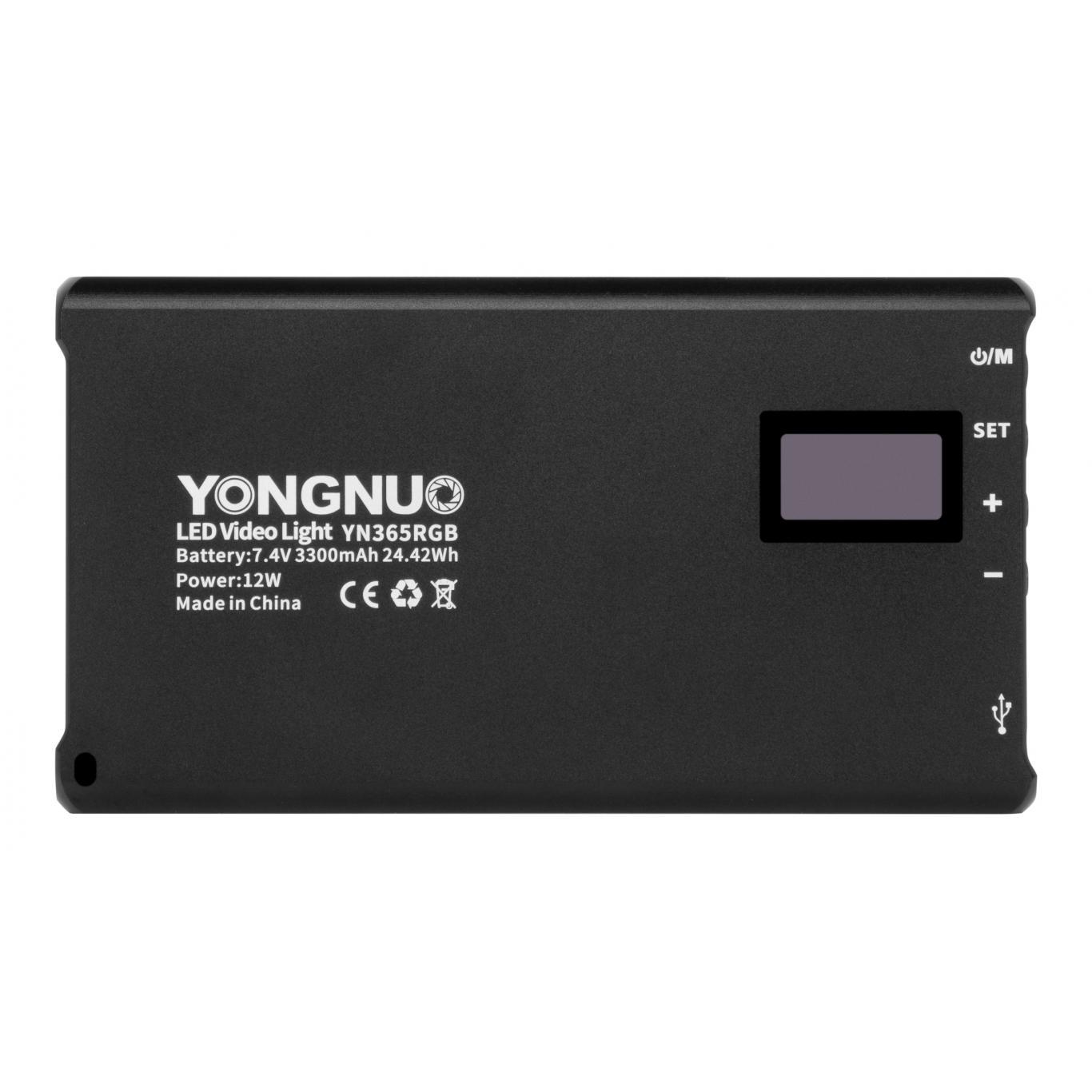 Yongnuo YN365 Lumière LED RVB - WB (2500 K - 8500 K)