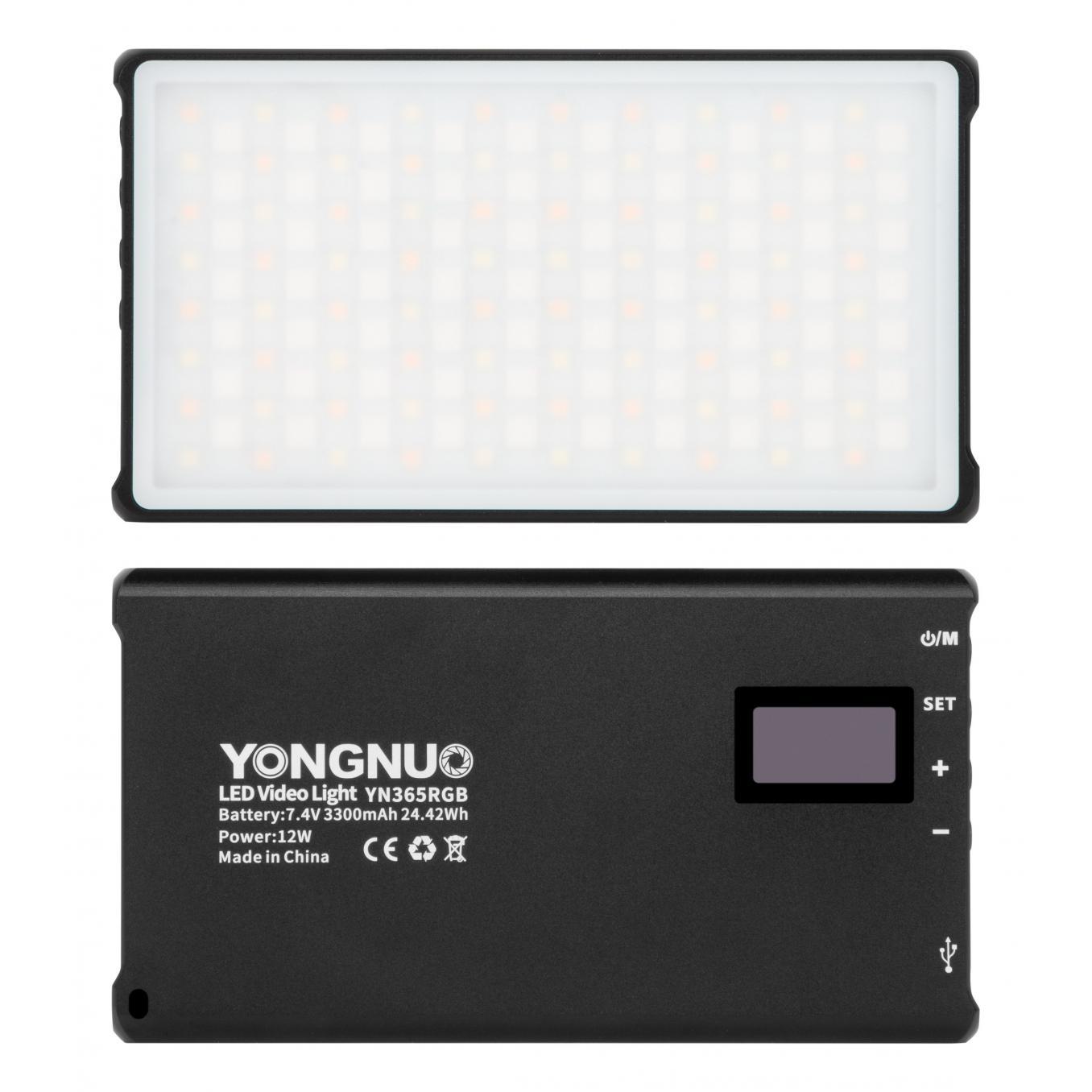 Yongnuo YN365 RGB LED Light - WB (2500 K - 8500 K)