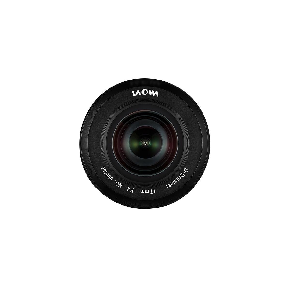 Laowa D-Dreamer 17 mm f/4,0 Zero-D for Fujifilm G