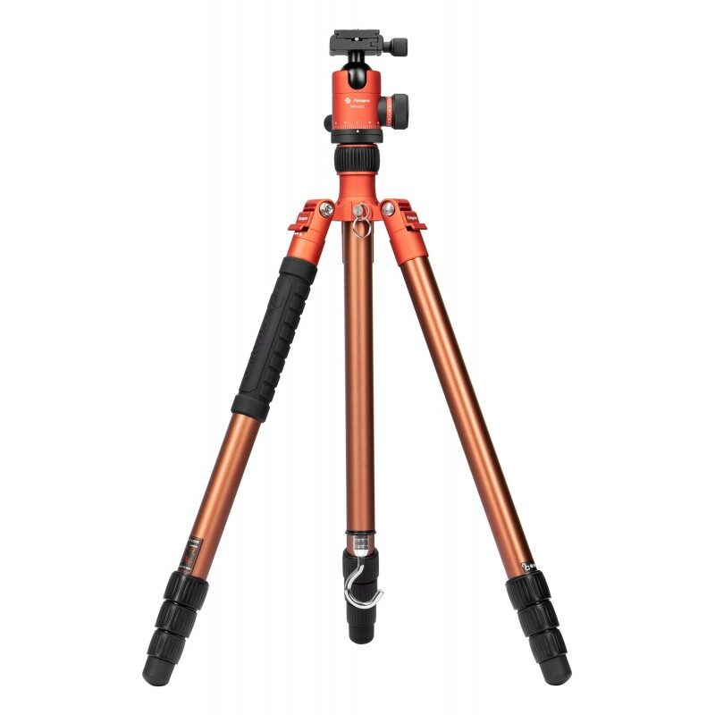 Fotopro X-go Predator tripod with FPH-62Q ballhead - orange-brown