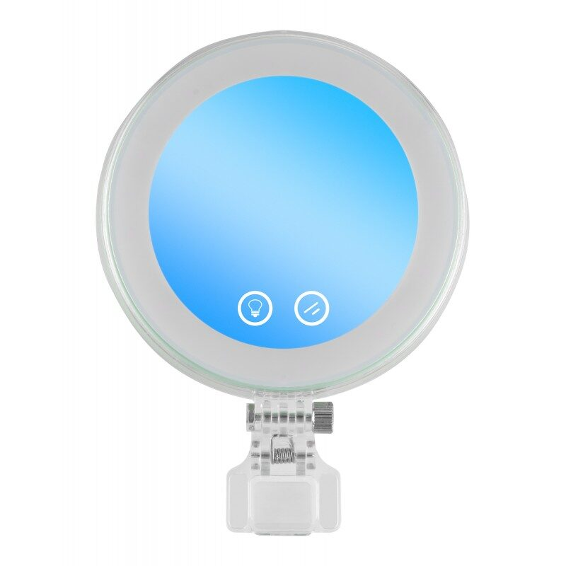 Yongnuo YN08Li LED lamp with selfie make-up mirror