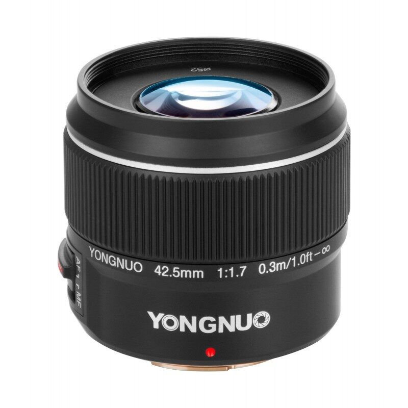 Yongnuo YN 42,5 mm f/1,7 lens for Micro 4/3