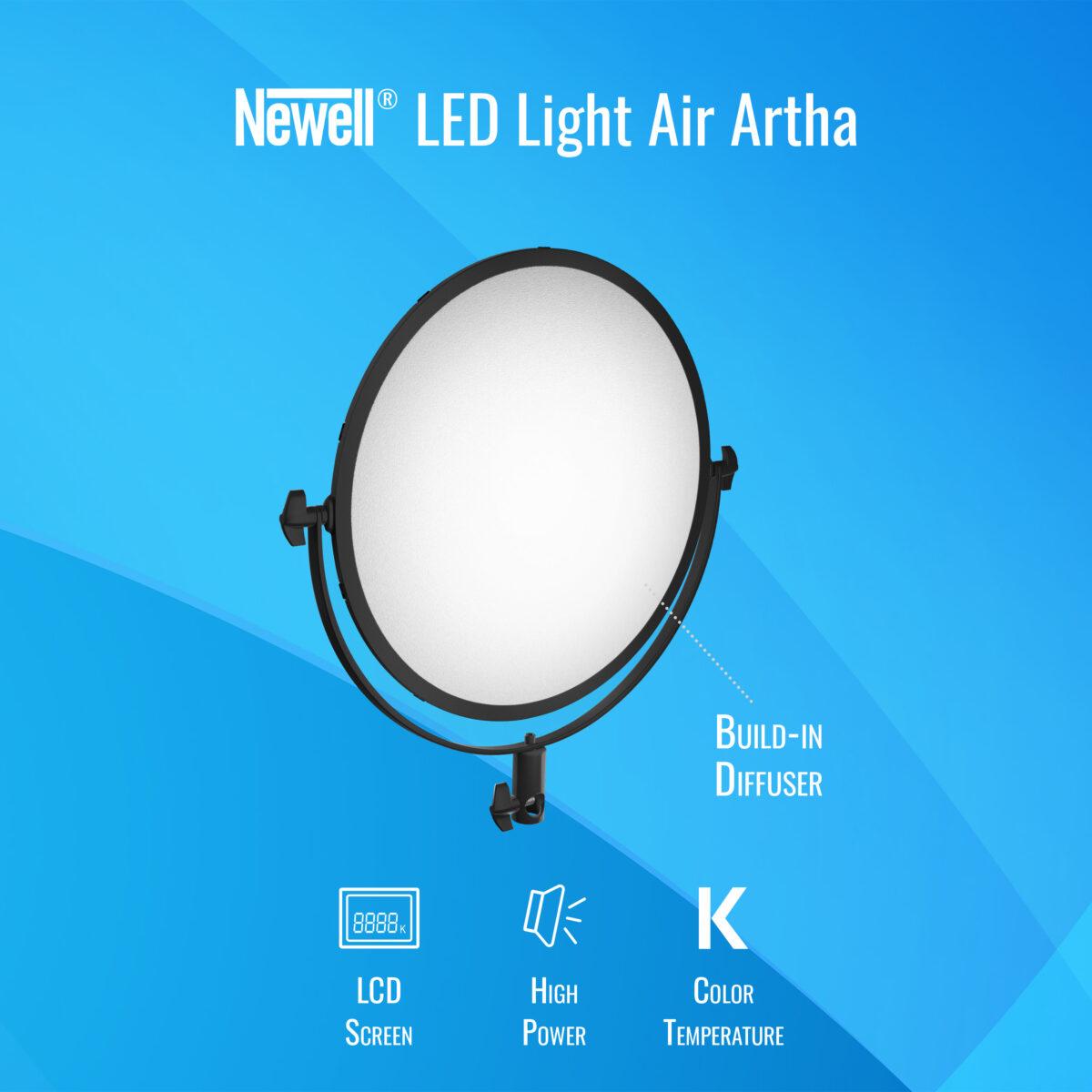 Newell Air Artha LED lamp
