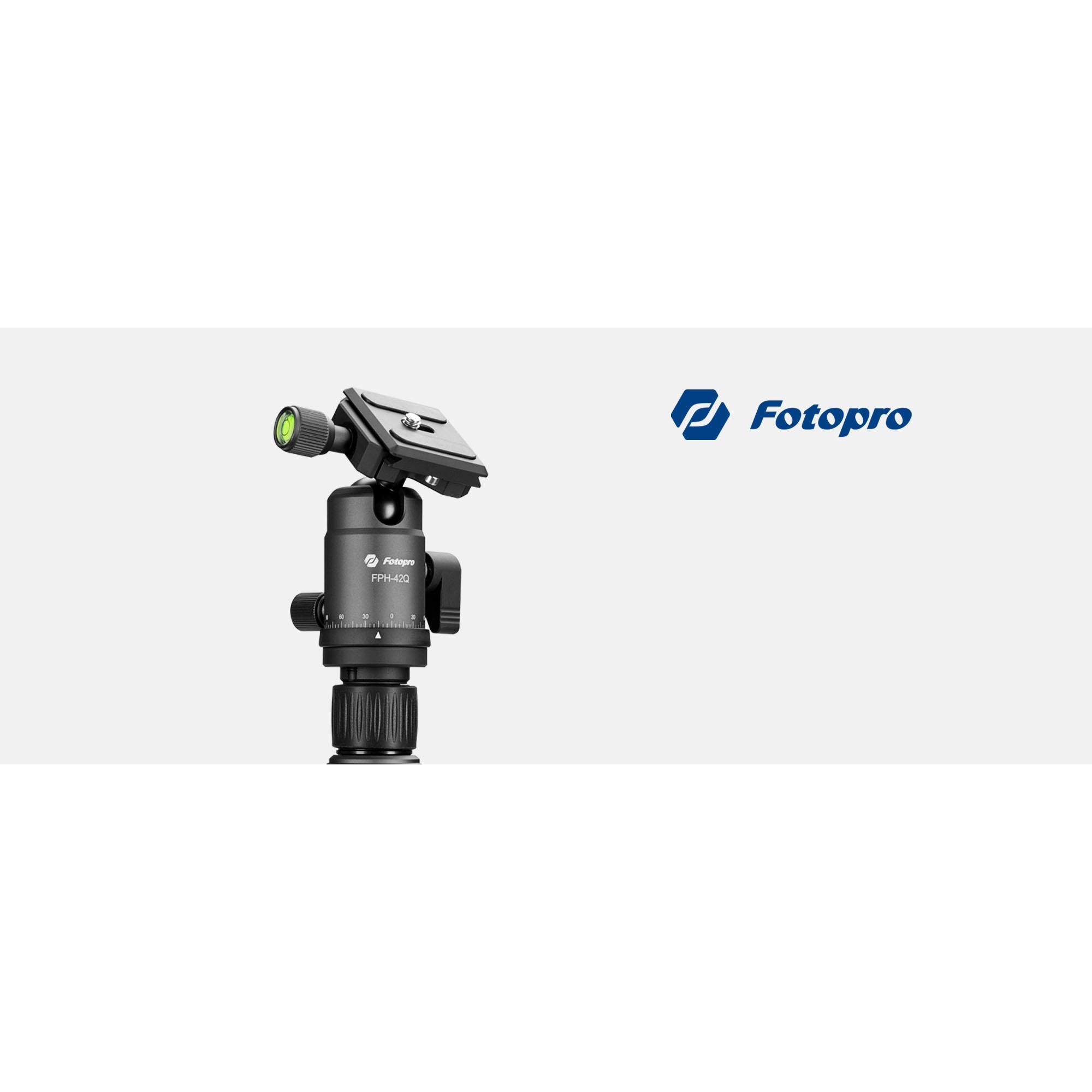 Fotopro X-go Gecko tripod with FPH-42Q ball head