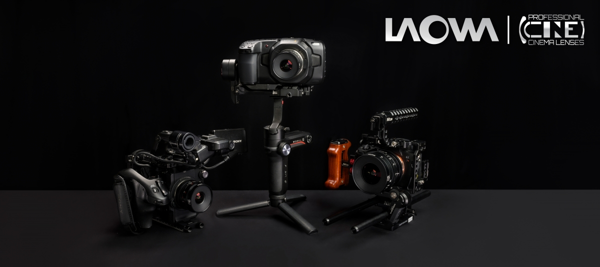 Venus Optics Laowa 15mm T2.1 Zero-D lens for Sony E on white background