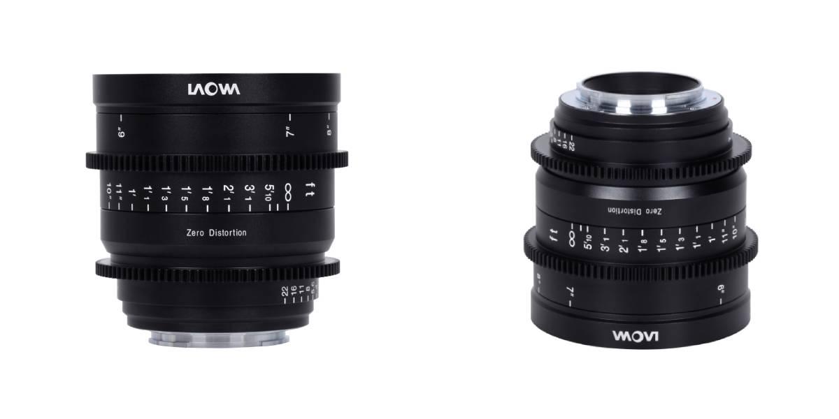 Venus Optics Laowa 15mm T2.1 Zero-D lens for Sony E on white tlle