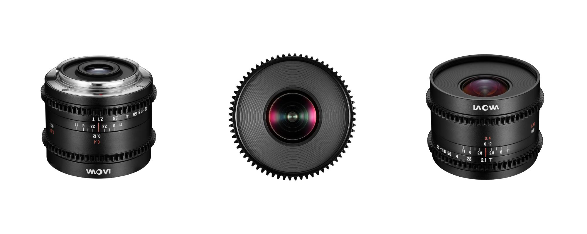 Venus Optics Laowa 7.5mm T2.1 to Micro 4/3 Cine lens on white background