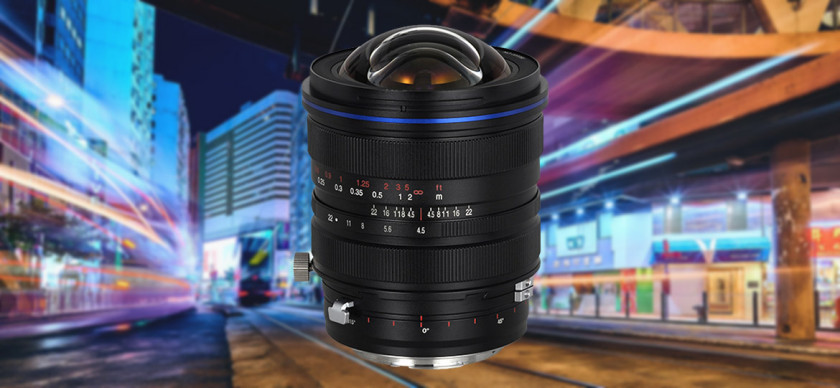 [Lens photo with city background]